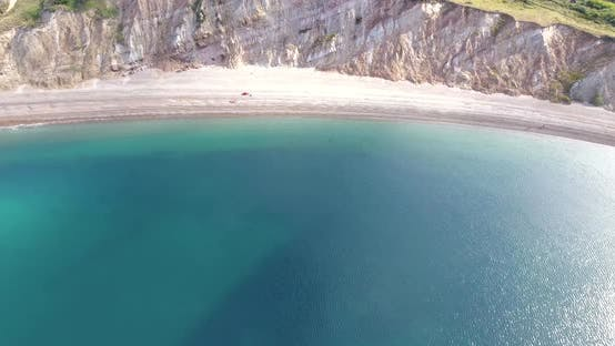 Thumbnail for Secluded Beach Surrounded by Cliffs
