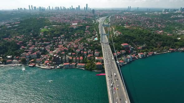 Thumbnail for Istanbul City With Bosphorus Bridge