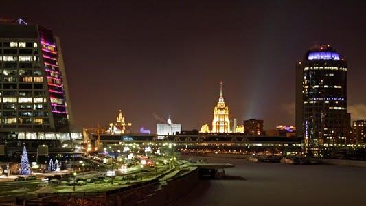 Thumbnail for Moskauer Nachtansicht