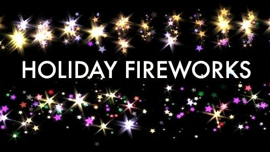 Thumbnail for Holiday Fireworks - Full HD