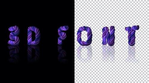 3d Paste Letters