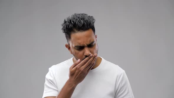 Thumbnail for Unhealthy Indian Man Coughing 32