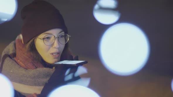 Thumbnail for Female Mobile Phone User Outdoors