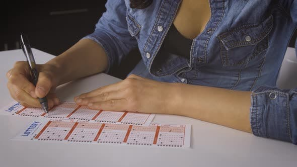 Thumbnail for Woman Playing The Lottery