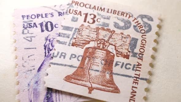 Old Postal Stamps