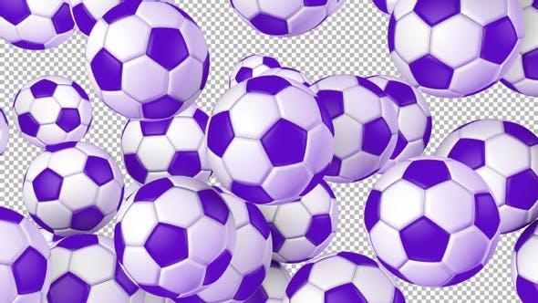 Soccer Ball Transition Ver 2 – Purple