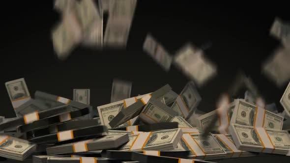 Thumbnail for Stacked Dollars Falling V3