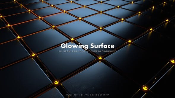 Thumbnail for Glowing Surface Motion 15