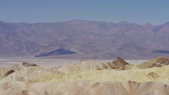 Pan right of the Death Valley