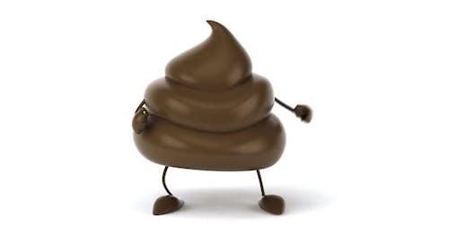 Fun poop Charakter