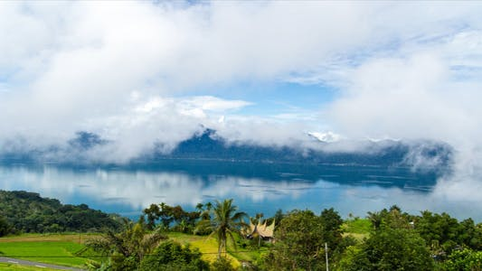 Thumbnail for Danau Maninjau Lake And Clouds Time Lapse 1