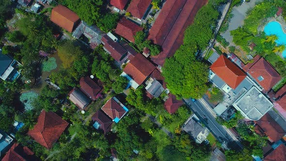 Thumbnail for Aerial View Of The City In Indonesia