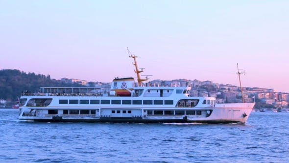 Thumbnail for Ferry Travelling at Bosphorus