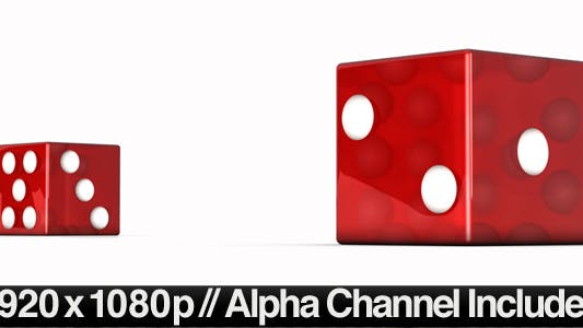 Thumbnail for Realistic Dice Roll with Alpha Channel