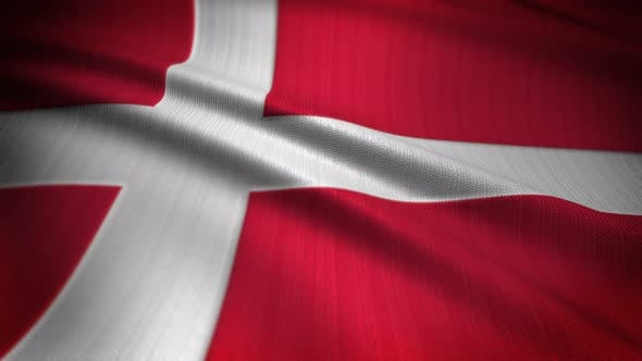 Thumbnail for Denmark Flag Seamless Loop