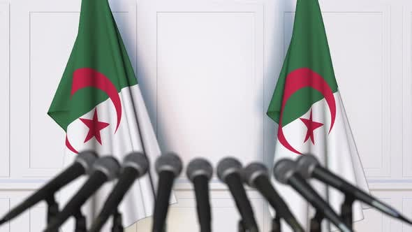 Thumbnail for Algerian Official Press Conference