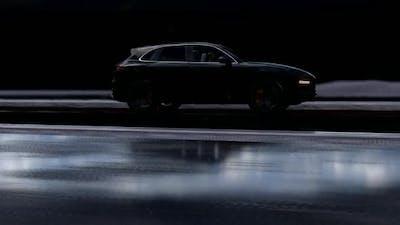 Black SUV Vehicle