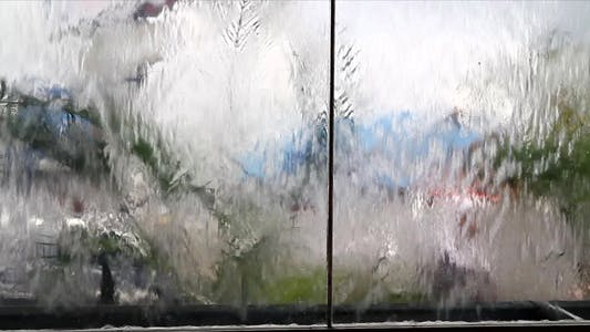 Thumbnail for Traffic Seen Through Water And Glass