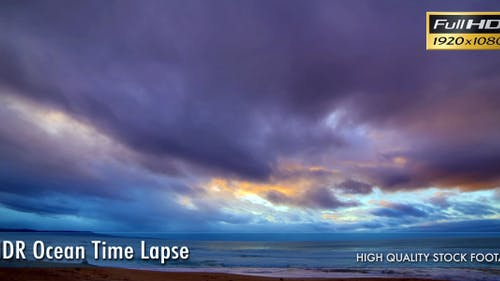 HDR Ocean Time Lapse