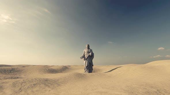 Jesus on the Desert