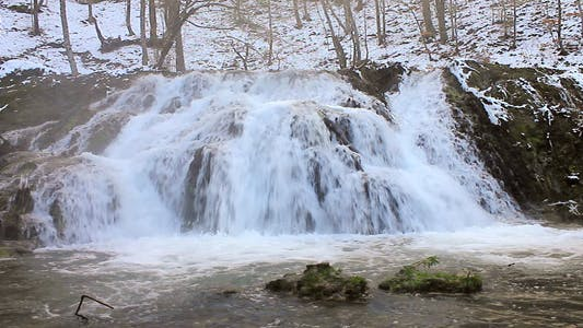 Thumbnail for Waterfall In Winter
