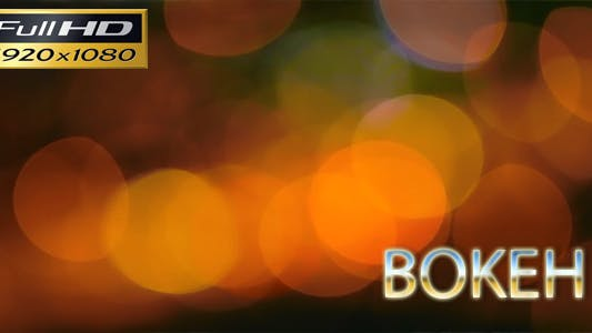 Bokeh Full Hd By Korkut82 On Envato Elements