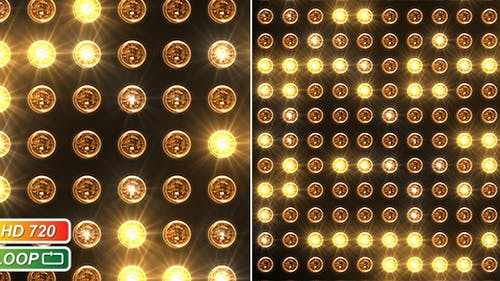 Reflector headlamp spots