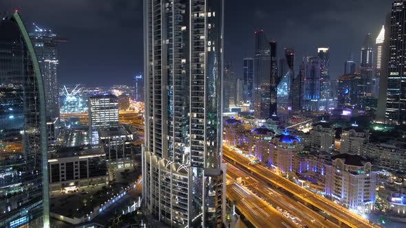 Thumbnail for Residential Area in Luxury High Rise Tower Cityscape