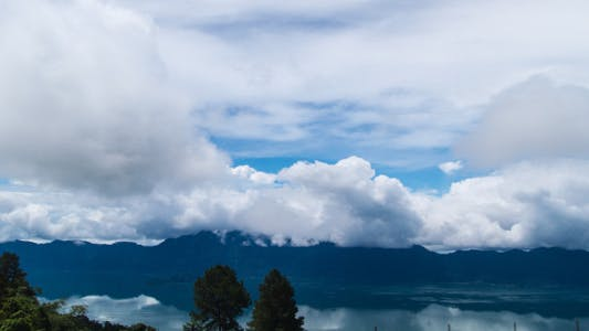Thumbnail for Maninjau Lake And Clouds Time Lapse 2