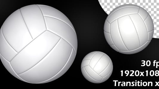 Thumbnail for Volleyball White Transition Hits