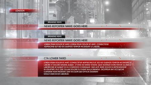 Lower Third News 5