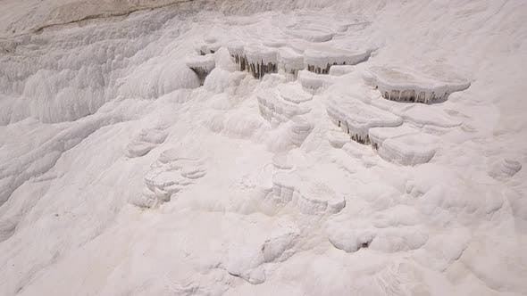 Thumbnail for Aerial View of Pamukkale Travertines, Turkey