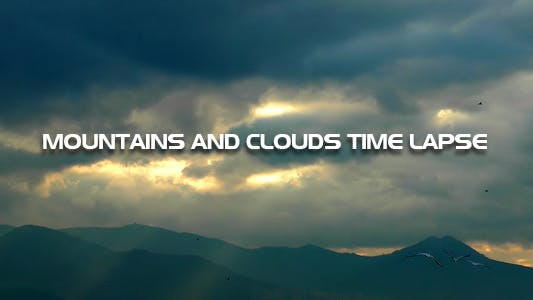 Cover Image for Mountains And Clouds Time Lapse