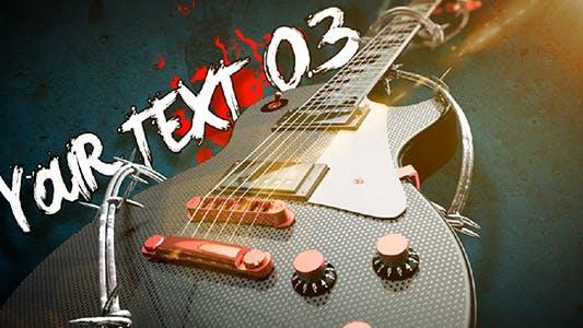 Thumbnail for Abridor de texto de Guitarra de Rock