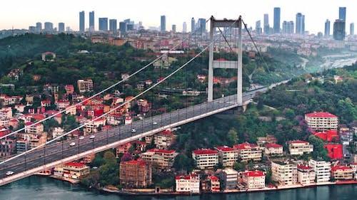 View of Bosphorus Istanbul