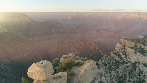 Thumbnail for Overall View of Unforgettable Sunrise Over the Canyon