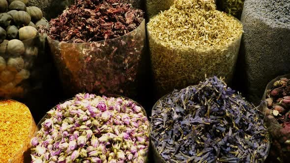 Thumbnail for Eastern Market with spices in UAE