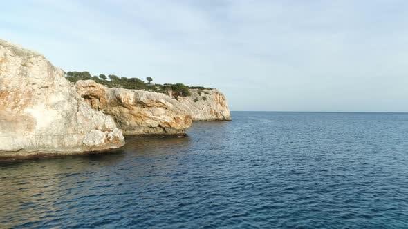 Thumbnail for Rocky Mediterranean Seaside Shore Cliffs