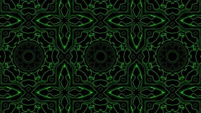 Abstract Stripes Kaleidoscope