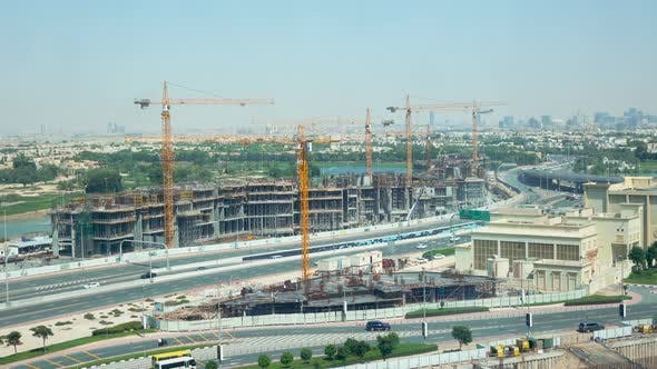 Thumbnail for View of the City Under Construction