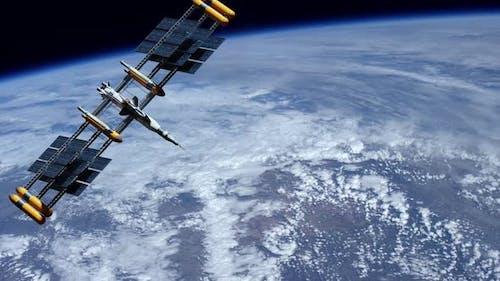 Meteorologie Weltraumnavigation Satelliten-Überwachung Wetter des Planeten
