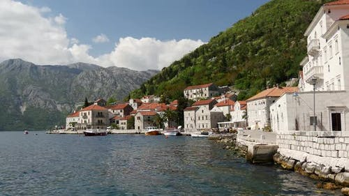 Altstadt Perast in Montenegro