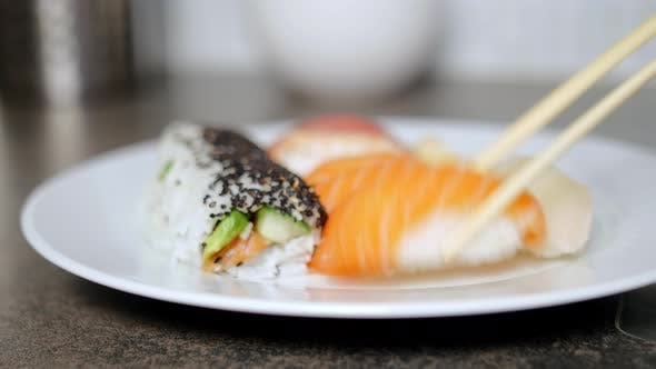 Thumbnail for Sushi on a Plate