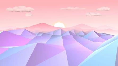 Lowpoly Landscape 4k