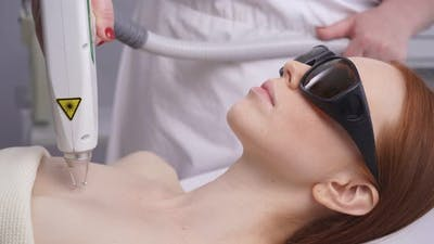 Laser Skin Resurfacing, Laser Epithelial Removal, Laser Rejuvenation. Hardware Cosmetology
