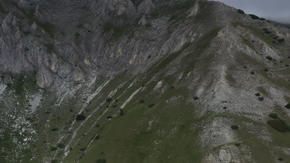 Thumbnail for Aerial View On Vihren Peak In Pirin Mountains 2