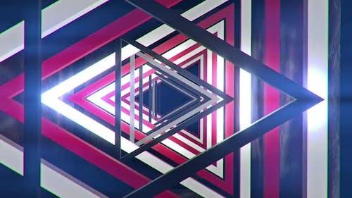 Triangle Red 04 Hd