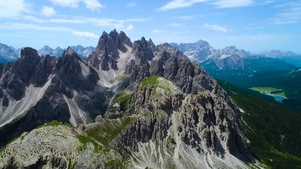 Cover Image for National Nature Park Tre Cime in the Dolomites Alps
