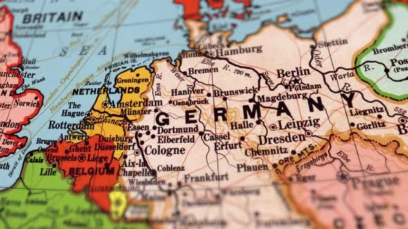Thumbnail for Germany On World Map