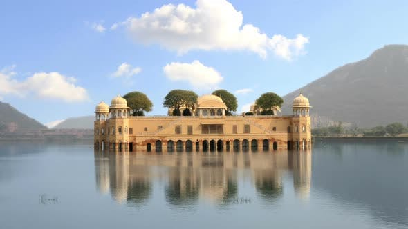 Thumbnail for India Water Temple Jal Mahal